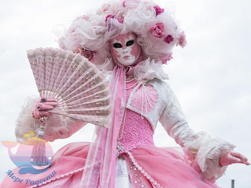 венецианский карнавала на детский праздник