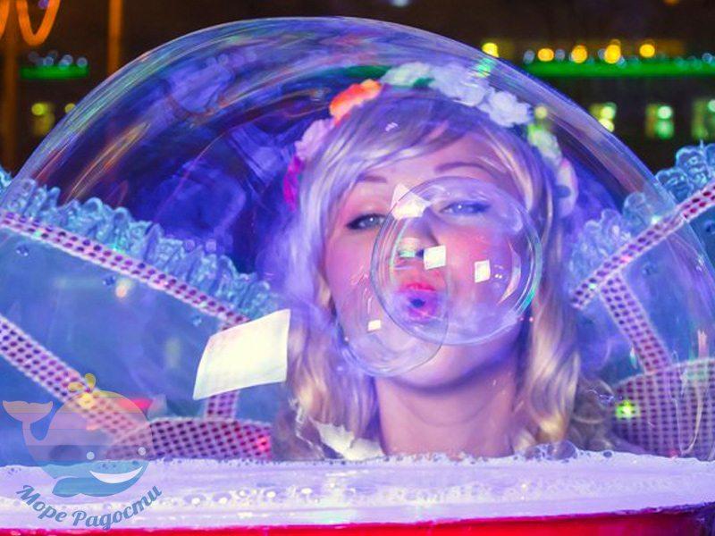 шоу мыльных пузырейв Москве
