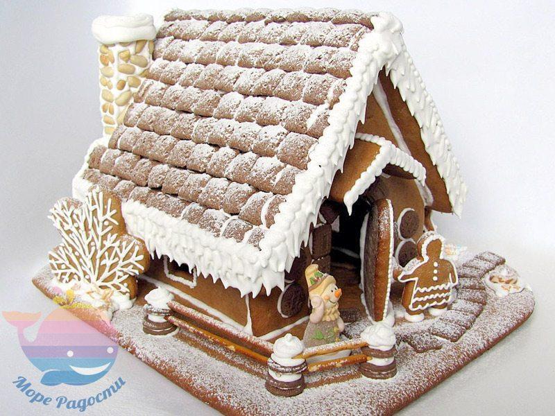 мастер-класс пряничный домик