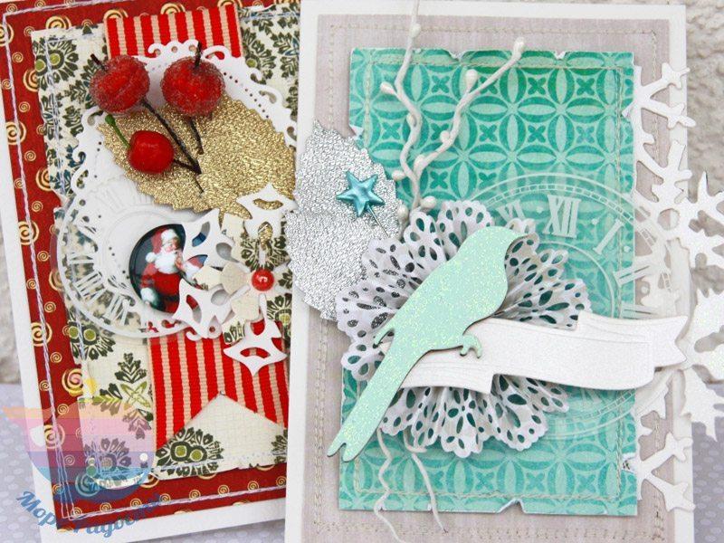 Мастер-класс новогодние открытки
