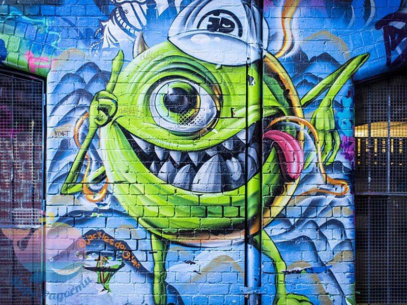 мастер-класс граффити