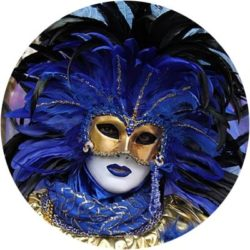 Новогодние маски