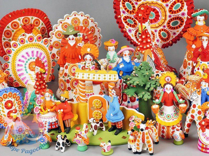 мастер-класс роспись глиняной игрушки