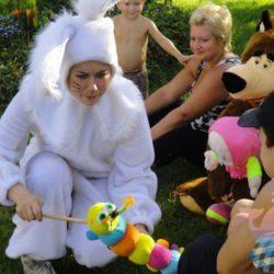 аниматор Зайчик На детский праздник