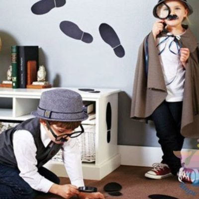 аниматор Шерлок и Ватсон на рекламную акцию