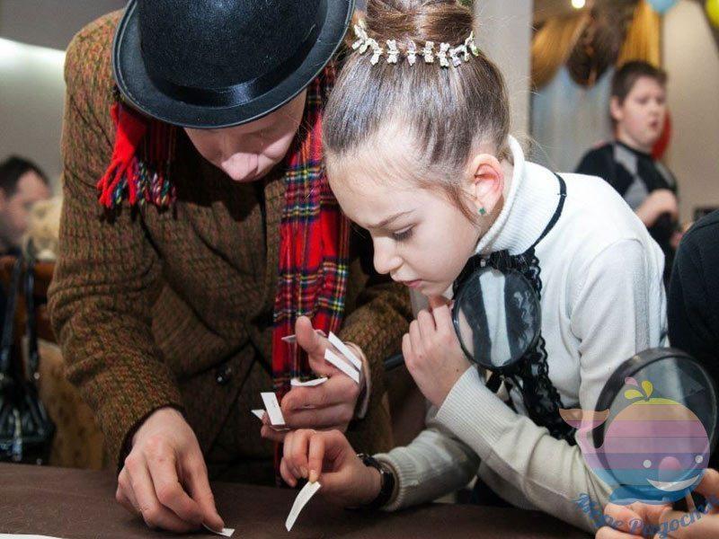 аниматор Шерлок и Ватсон На детский праздник