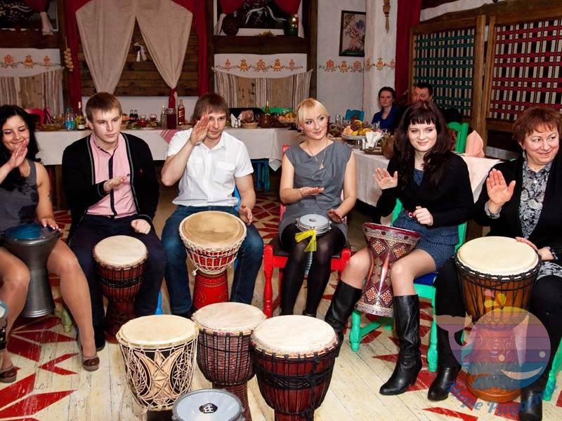 Барабанное шоу на свадьбу, юбилей