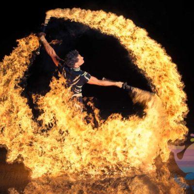 Огненное Шоу на выпускной