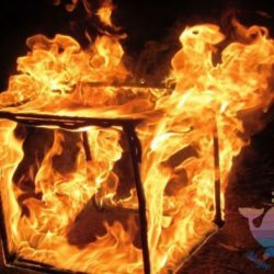 Огненное Шоу в кафе, ресторане