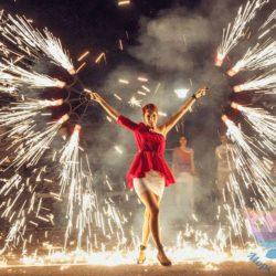 Огненное Шоу на свадьбу, юбилей