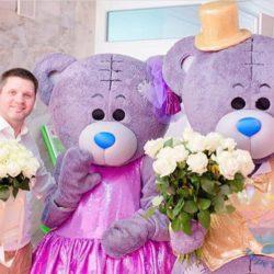 Шоу Мишек Тедди на свадьбу, юбилей