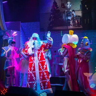 Новогоднее шоу в отеле, доме отдыха