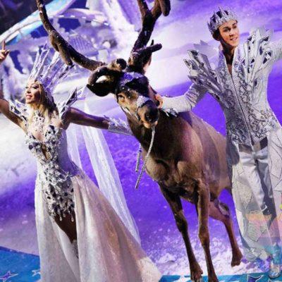 Новогоднее шоу в Москве