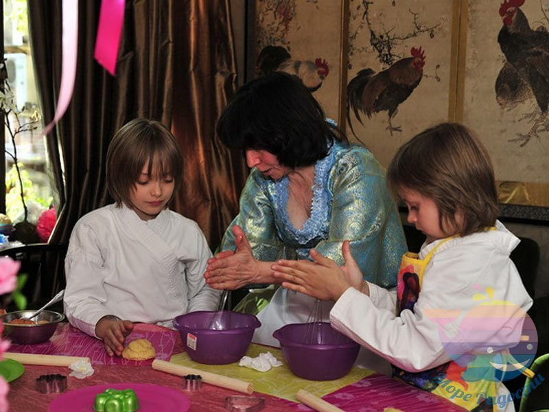 Кулинарное шоу на детский праздник