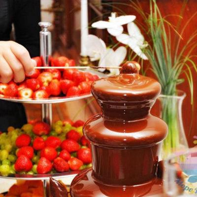 Шоколадный фонтан для детей и взрослых
