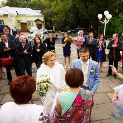 Выездной регистратор Андрей на свадьбу