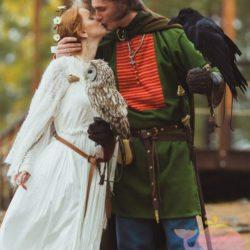 вечеринка Средневековая свадьба для детей