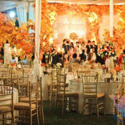 вечеринка Осенняя свадьба для взрослых