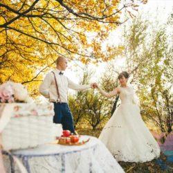 Свадьба Осенняя В подмосковье