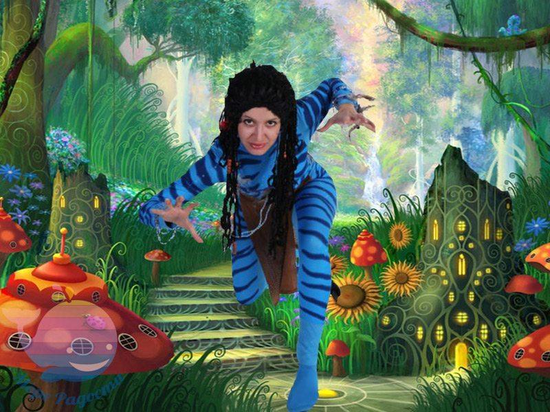 аватар на детский праздник девочке