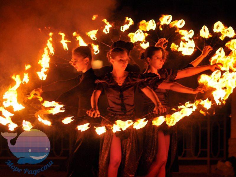 Огненное Шоу в Москве