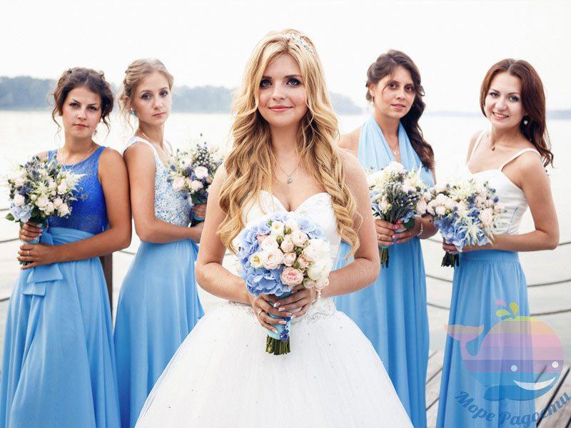 Свадьба Морская в доме отдыха