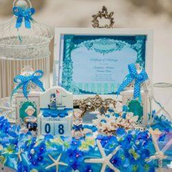 вечеринка Морская свадьба для взрослых