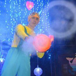 Шоу Дымовых Колец на день рождения