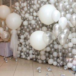 Оформление шарами на вечеринку, банкет