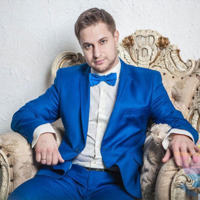 Ведущий Дмитрий на выпускной