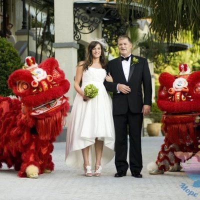 праздник свадьба Китайская