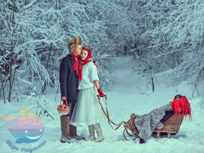 СвадьбаЗимняя сказка в Москве