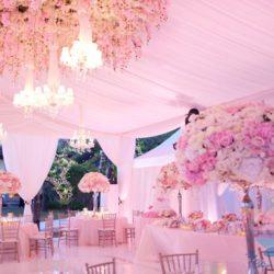 Свадьба Шебби шик в доме отдыха