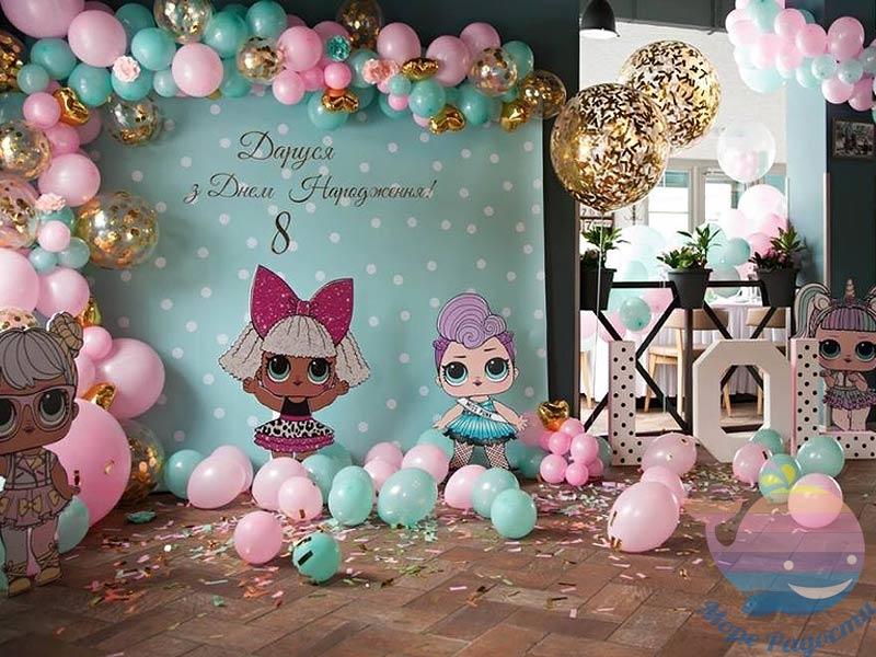 воздушные шары на праздник 1