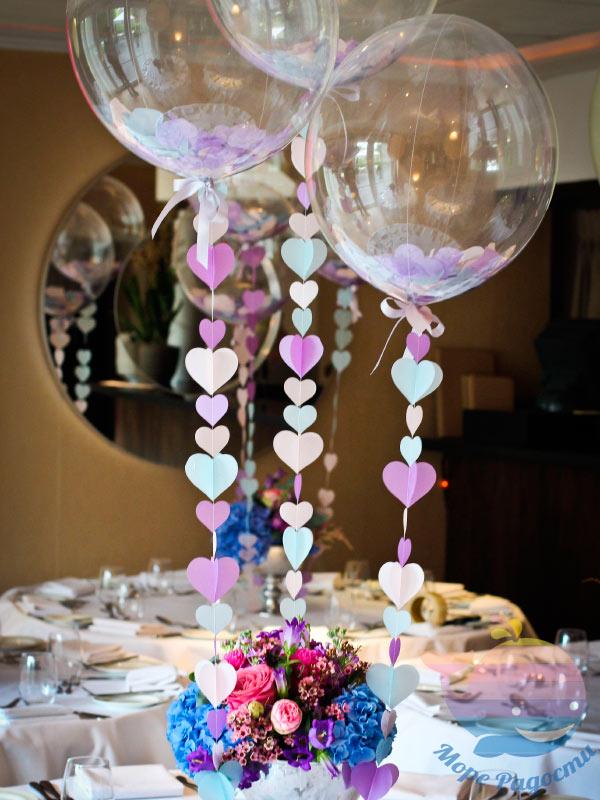 декор воздушными шарами