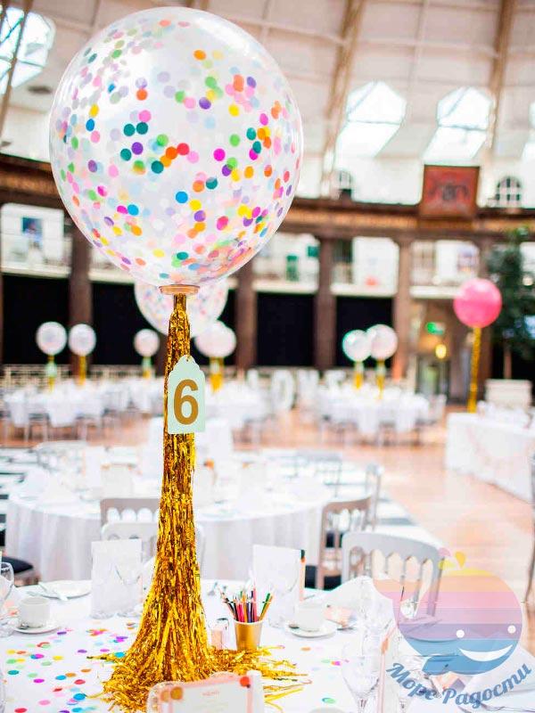 декор воздушными шарами 1