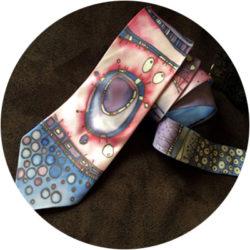 Роспись галстуков