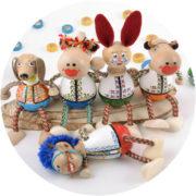 Роспись деревянных игрушек