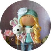 Кукла в стиле тильда